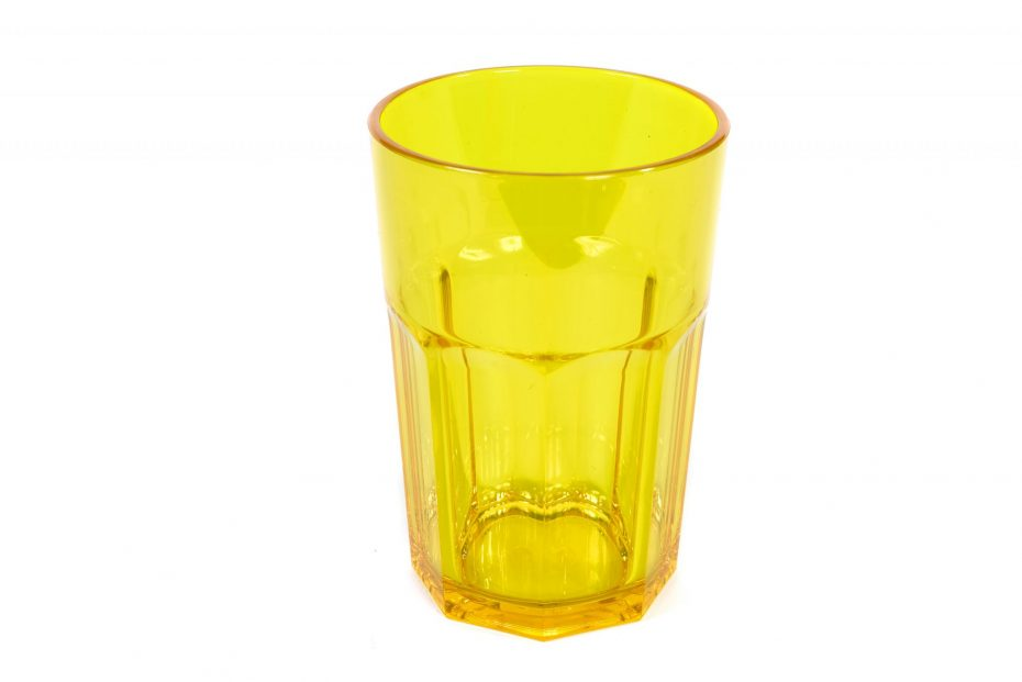 American Style Tumbler in Translucent Yellow