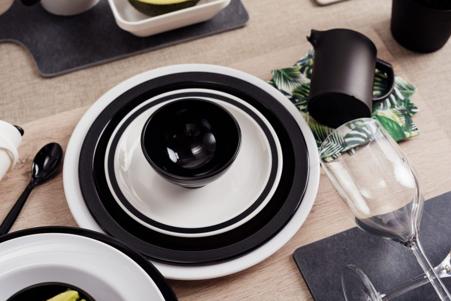 Modern Monochrome Dinnerware Range