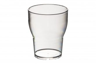 Clear Tulip Style Tumbler