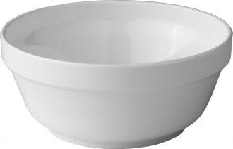 White Round Bowl
