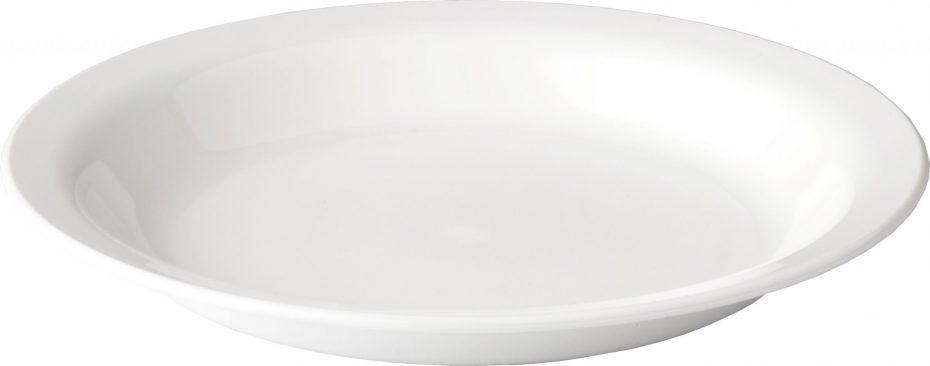 White 20,5cm Dessert Plate