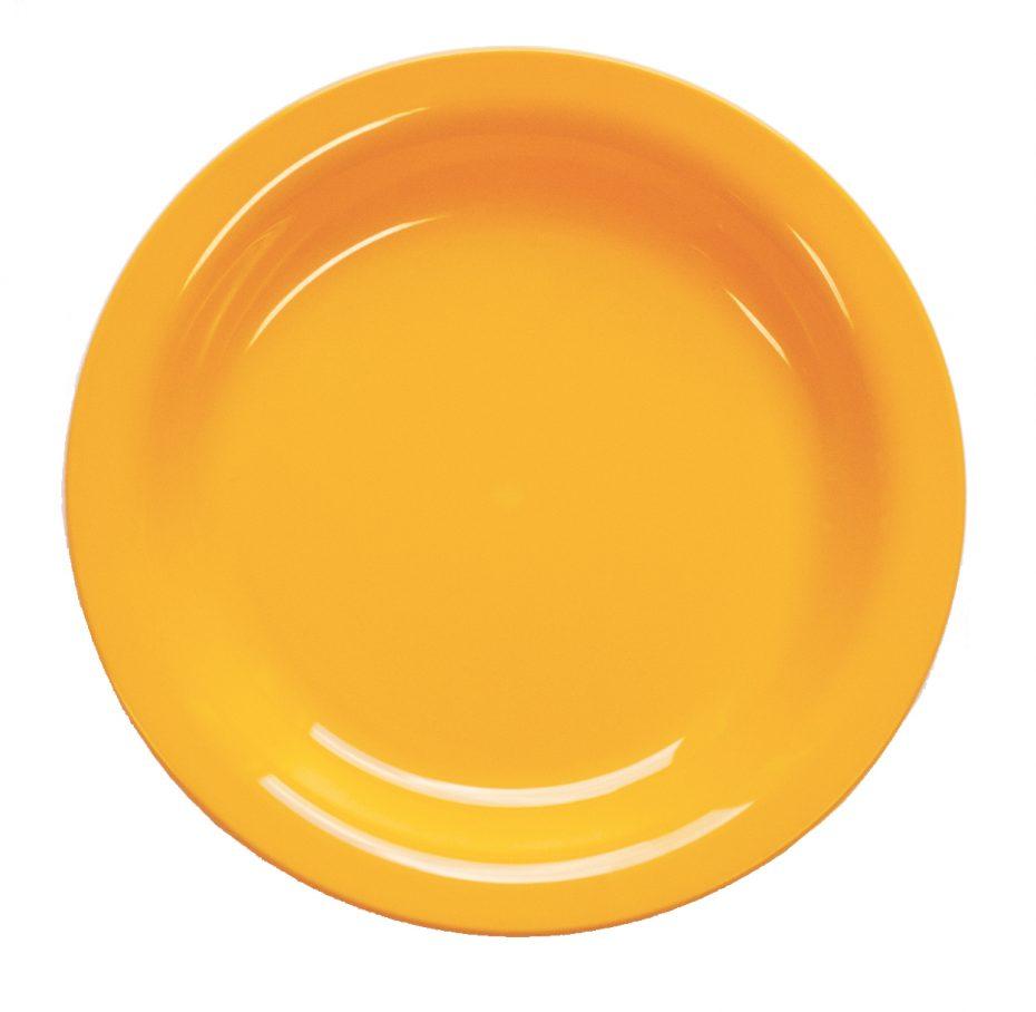 Yellow 20,5cm Dessert Plate