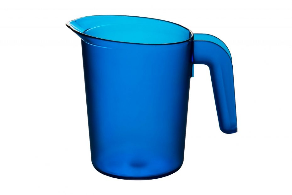 500ml Frosted Translucent Jug in Blue