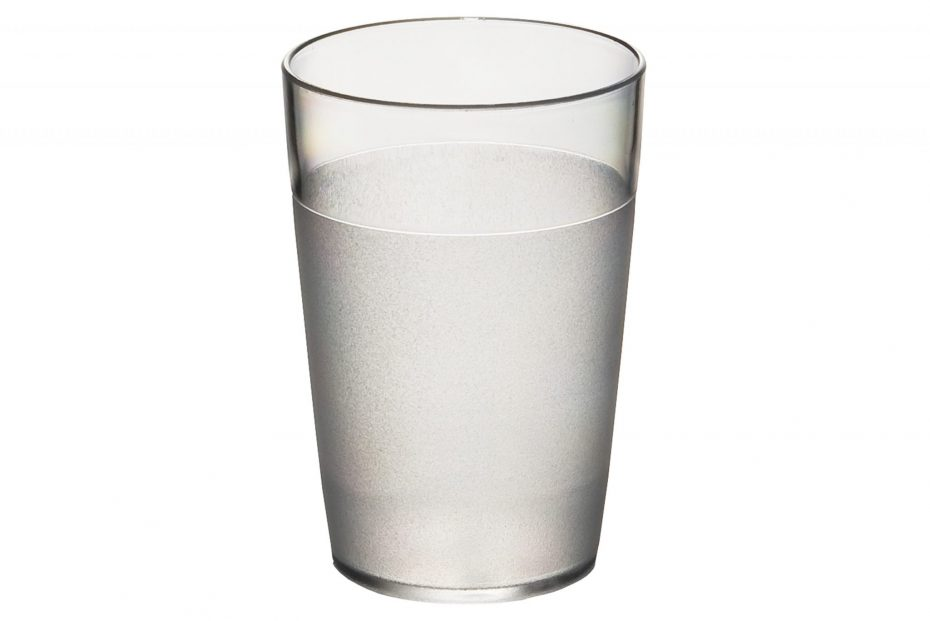 250ml Frosted Tumbler Clear