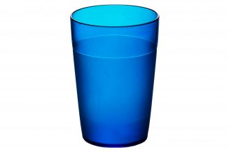 250ml Frosted Tumbler Blue