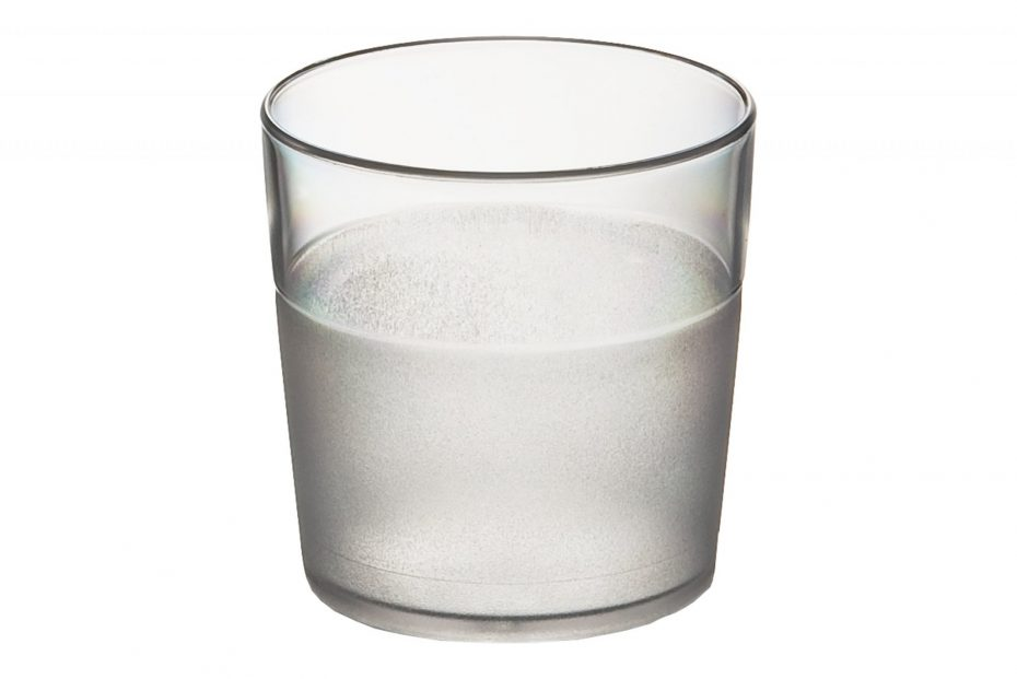 170ml Frosted Tumbler Clear