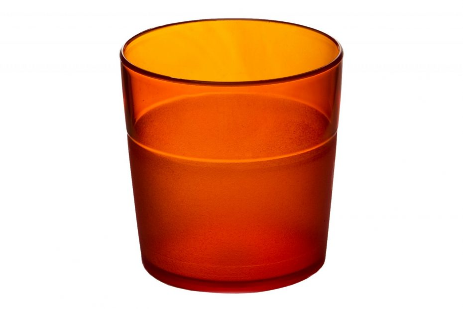 170ml Frosted Tumbler Orange