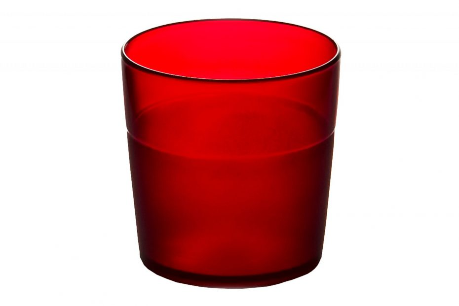 170ml Frosted Tumbler Red