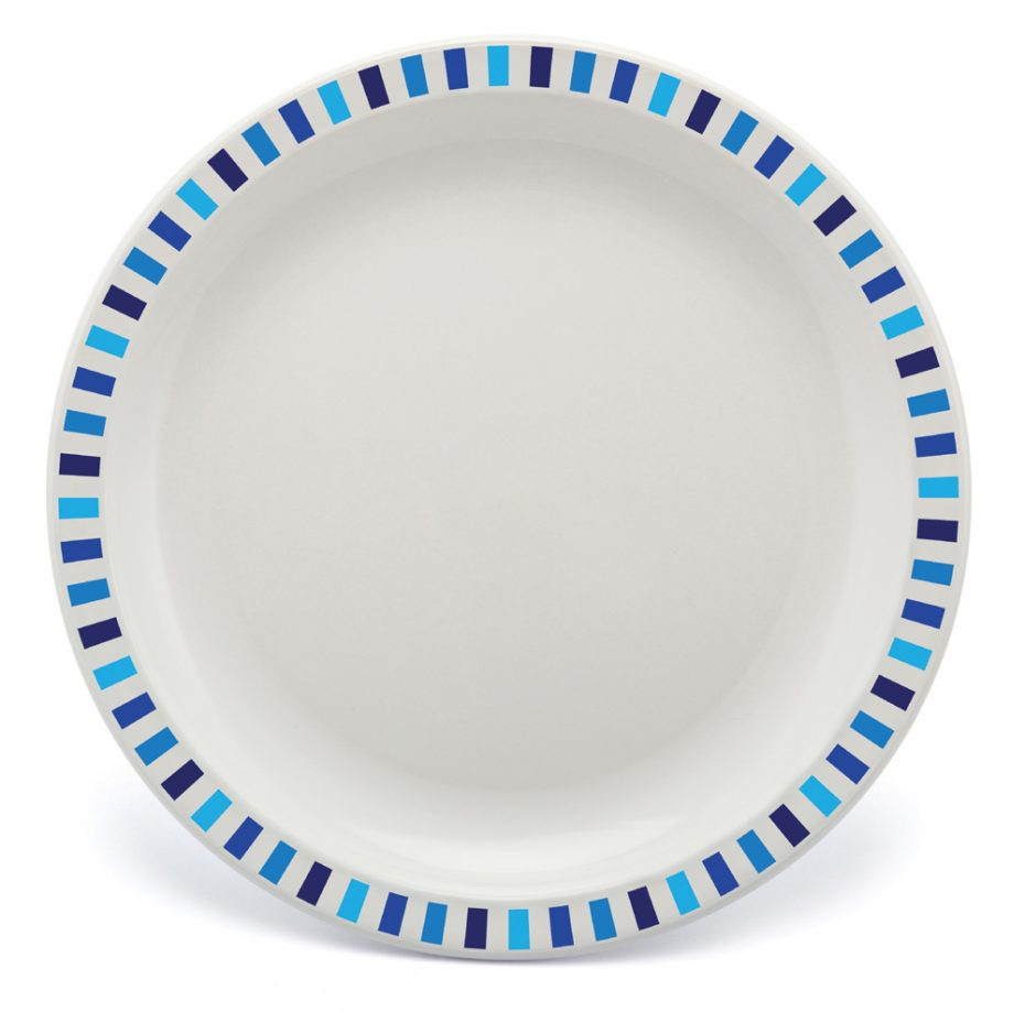 Blue Stripe Plate