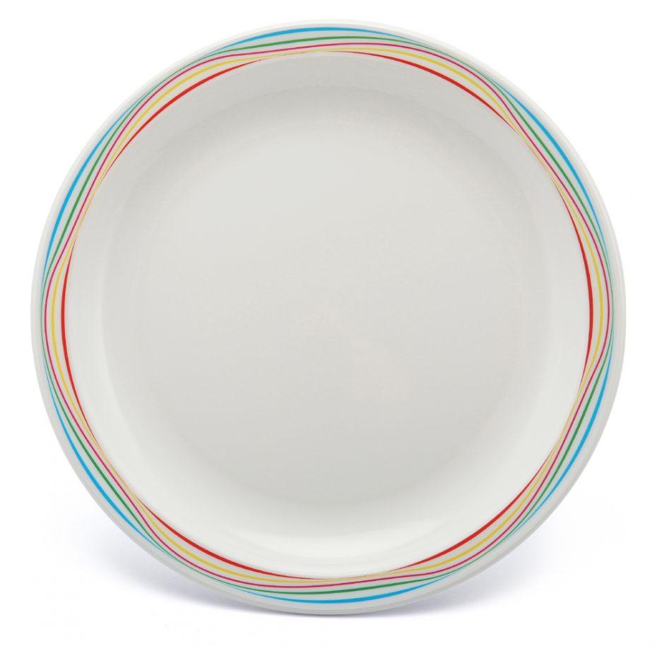 Multicolour Swirl Pattern Plate