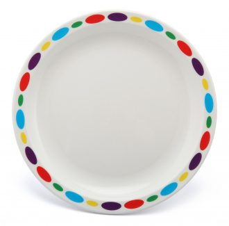 Small Patterned Duo Plate