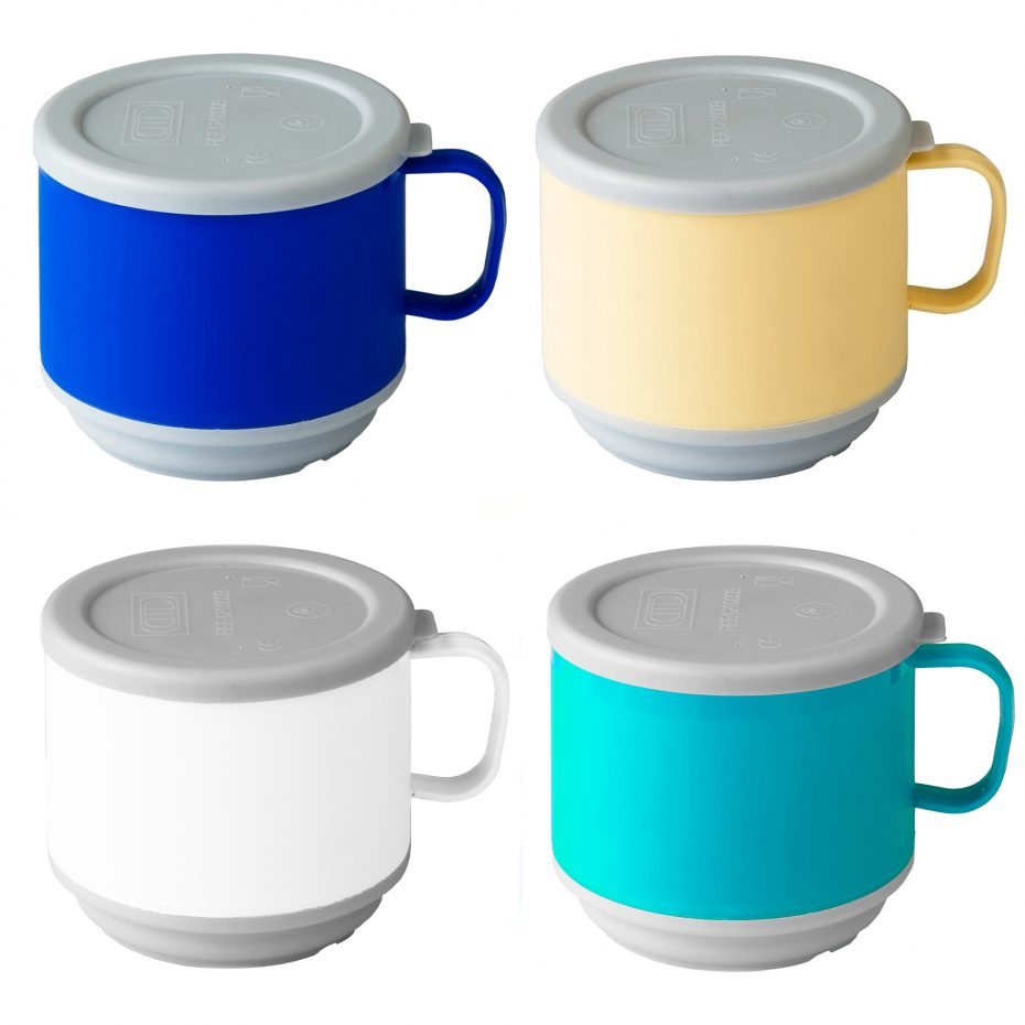 Thermomugs with lids