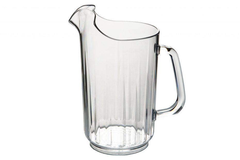 1.4 Litre Fluted Pitcher in Clear Colour