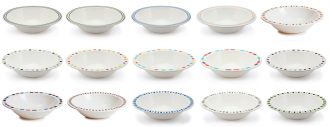 Patterned Range Duo Bowls