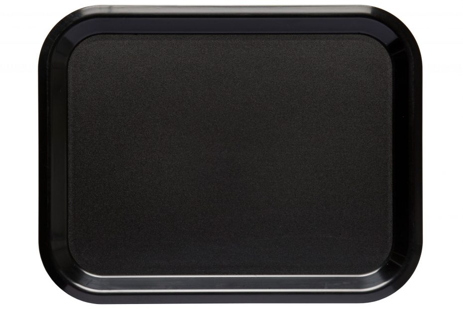 Black Large ABS Serving Tray