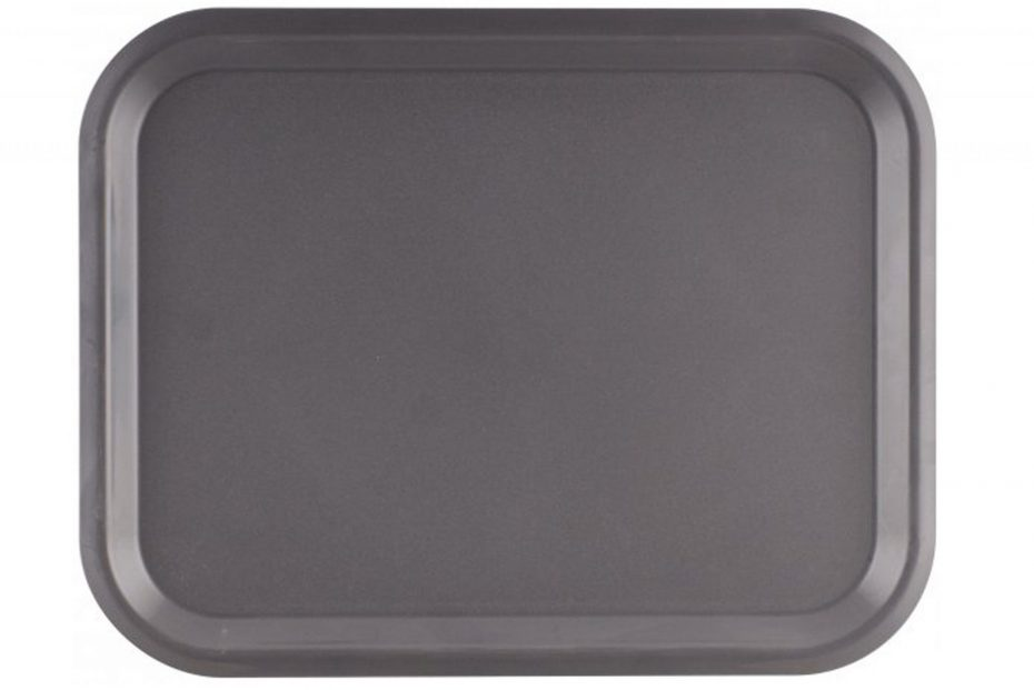 Dark Grey Large ABS Serving Tray