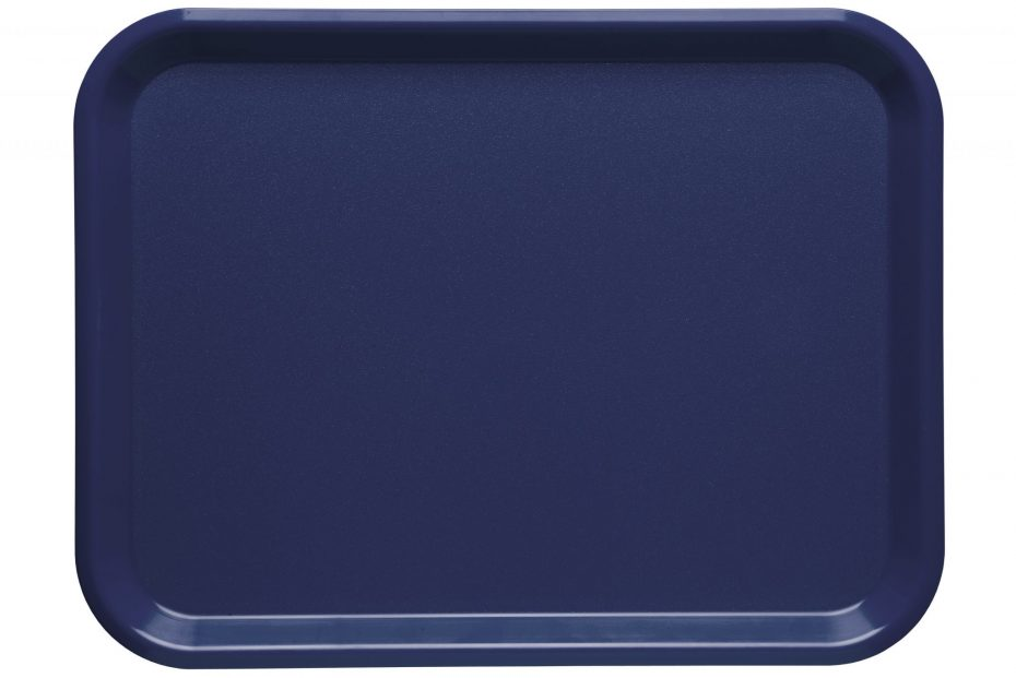 Marine Blue Large ABS Serving Tray