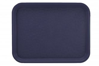Small Marine Blue Polypropylene Serving Tray