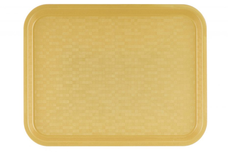 Small Pastel Yellow Polypropylene Serving Tray