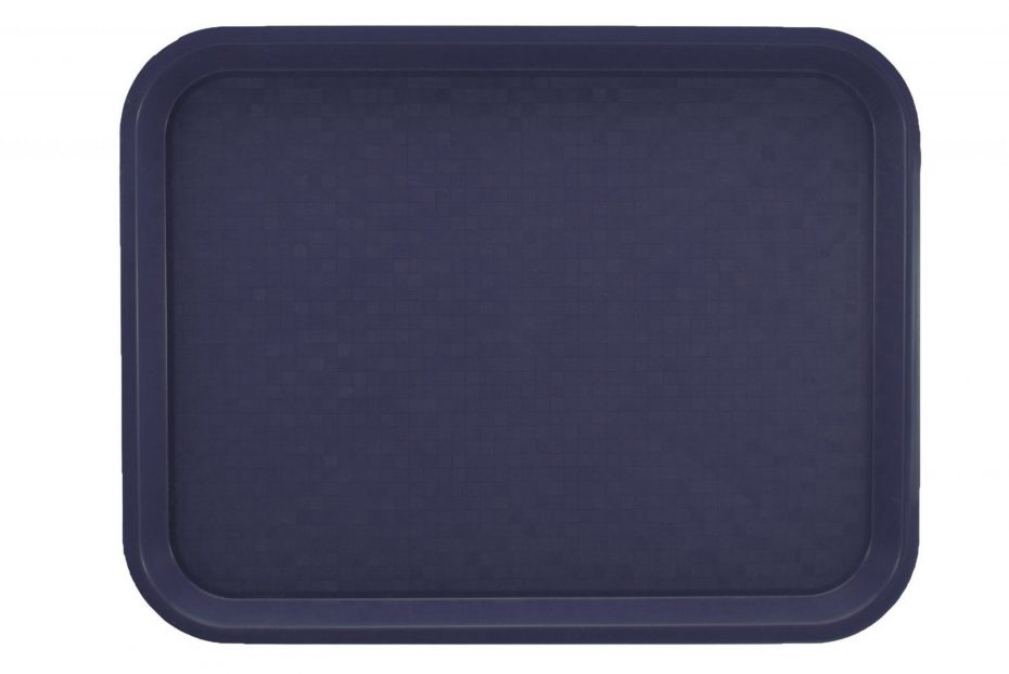 Large Marine Blue Polypropylene Serving Tray