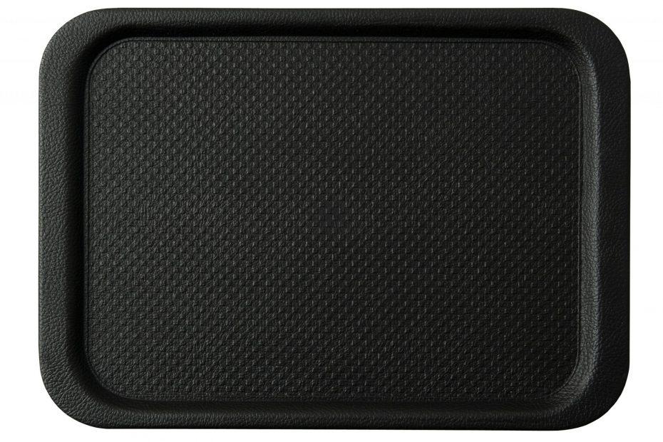 Large Black Bar Tray