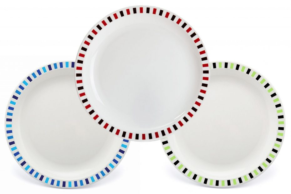 Extra Large Patterned Plate