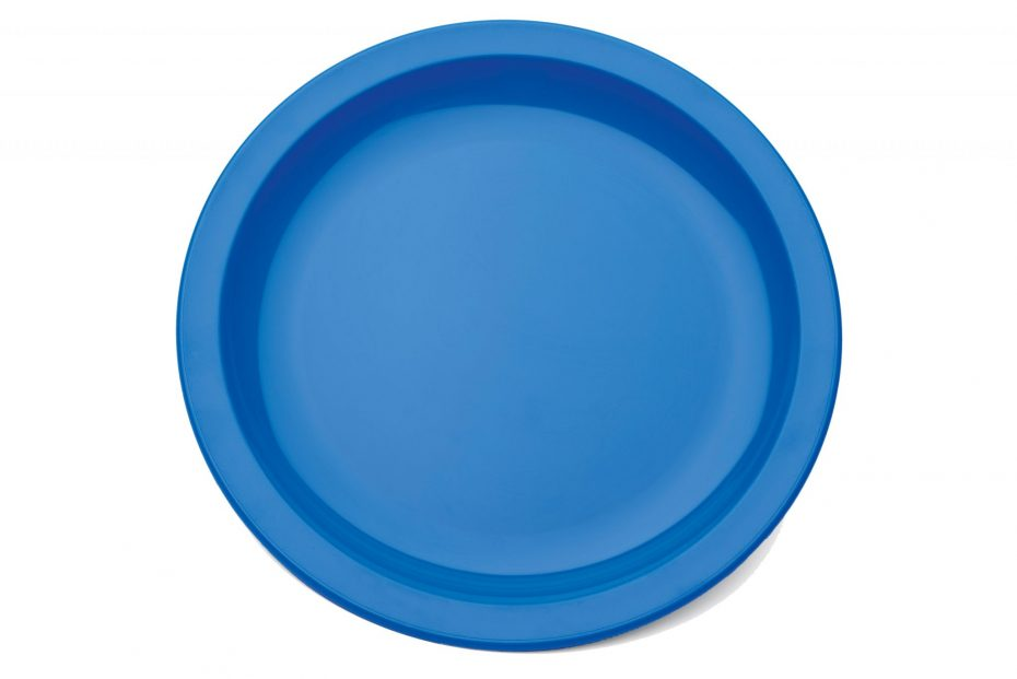 Blue Extra Large Dinner Plate