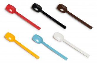 Narrow Flat Edge Spoons