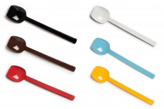 Wide Flat Edge Spoon