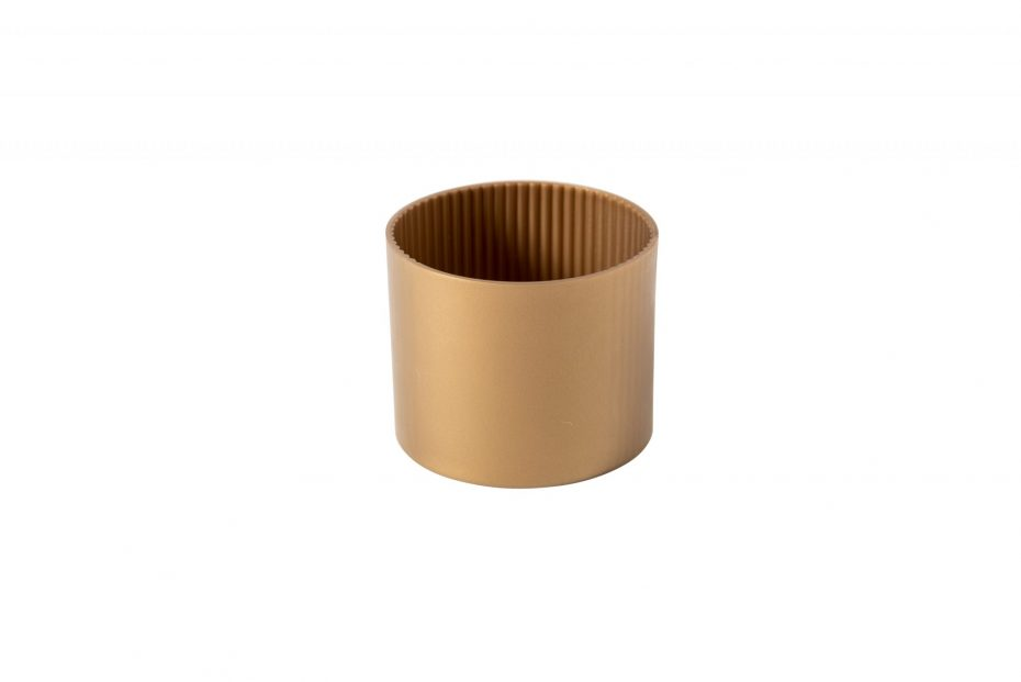 Gold Coffee Cup Sleeve
