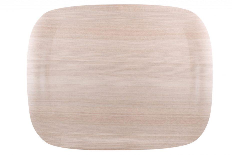 Light Wood Earth Wave Art Tray