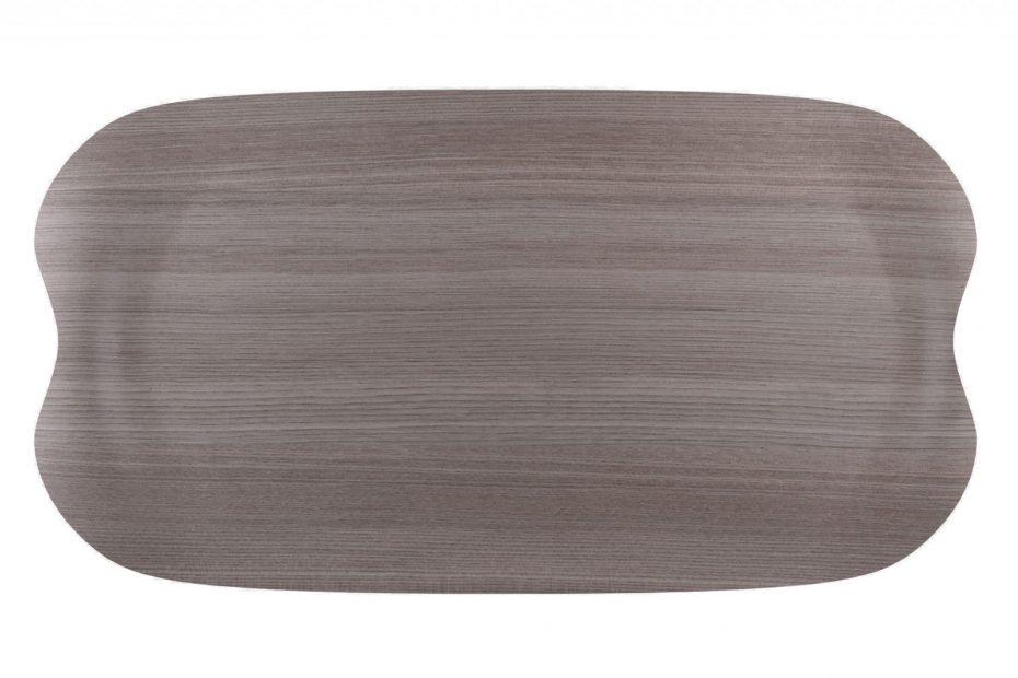 Grey Wood Earth Wave Tray