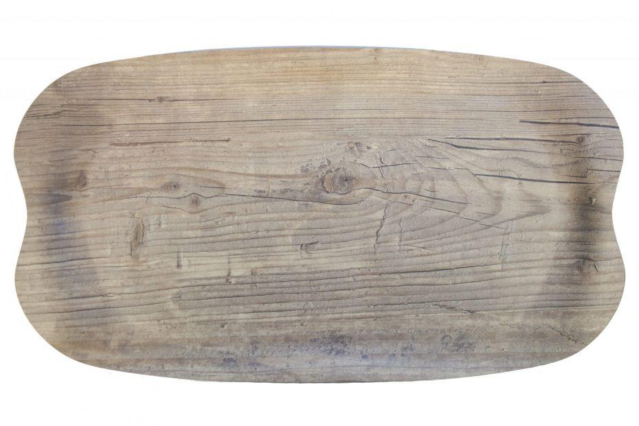 Vintage Wood Earth Wave Tray