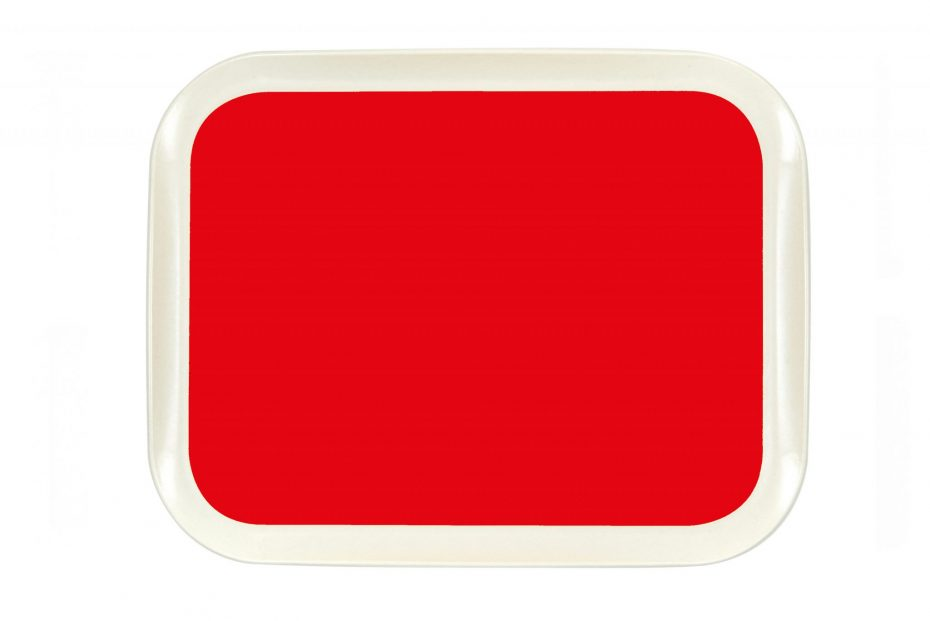 Red Lux Scandia Tray