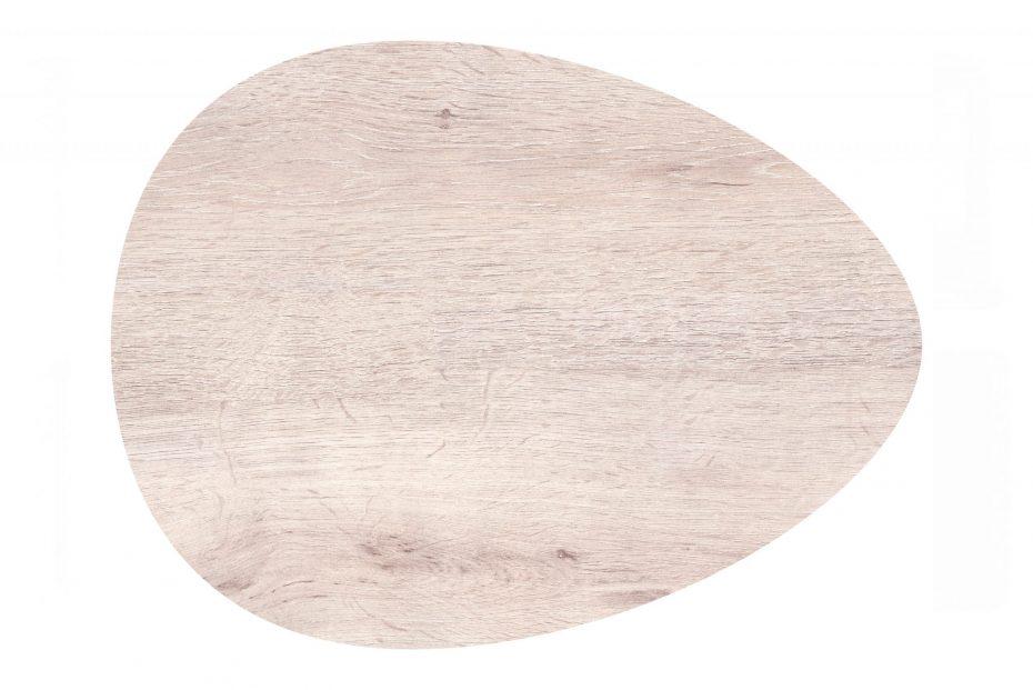 Egg Shape Oak S-Plank