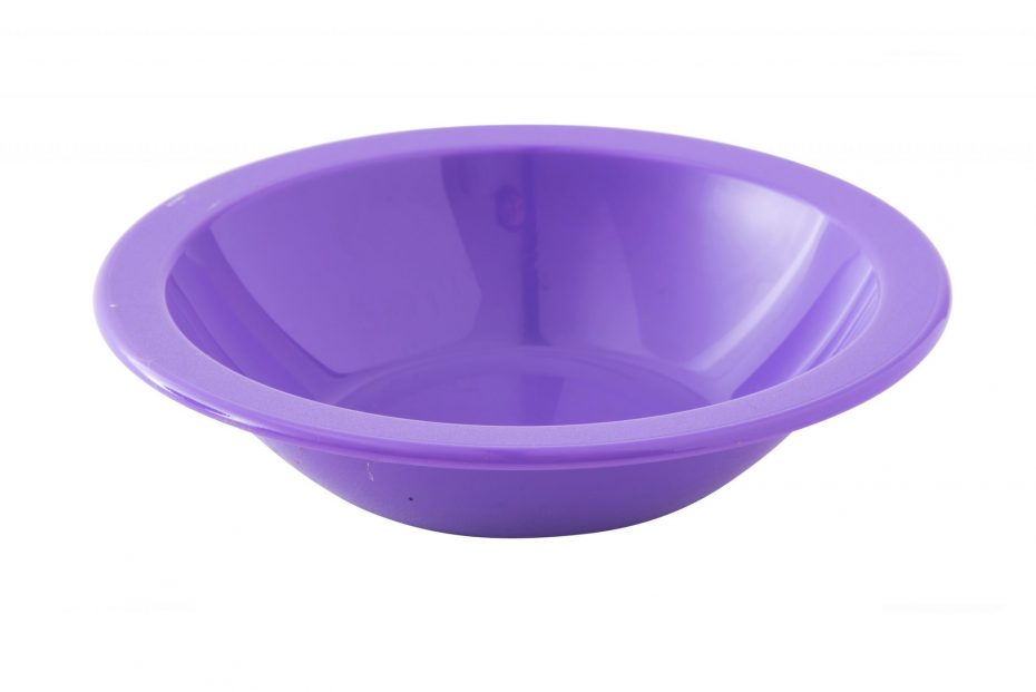 Purple Copolyester Narrow Rim Bowl
