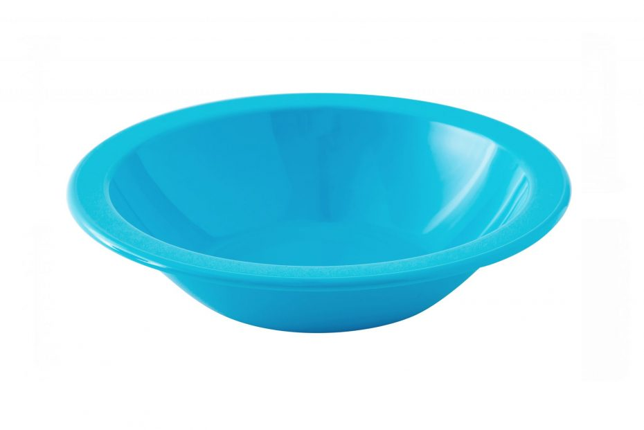Pacific Blue Copolyester Narrow Rimmed Bowl