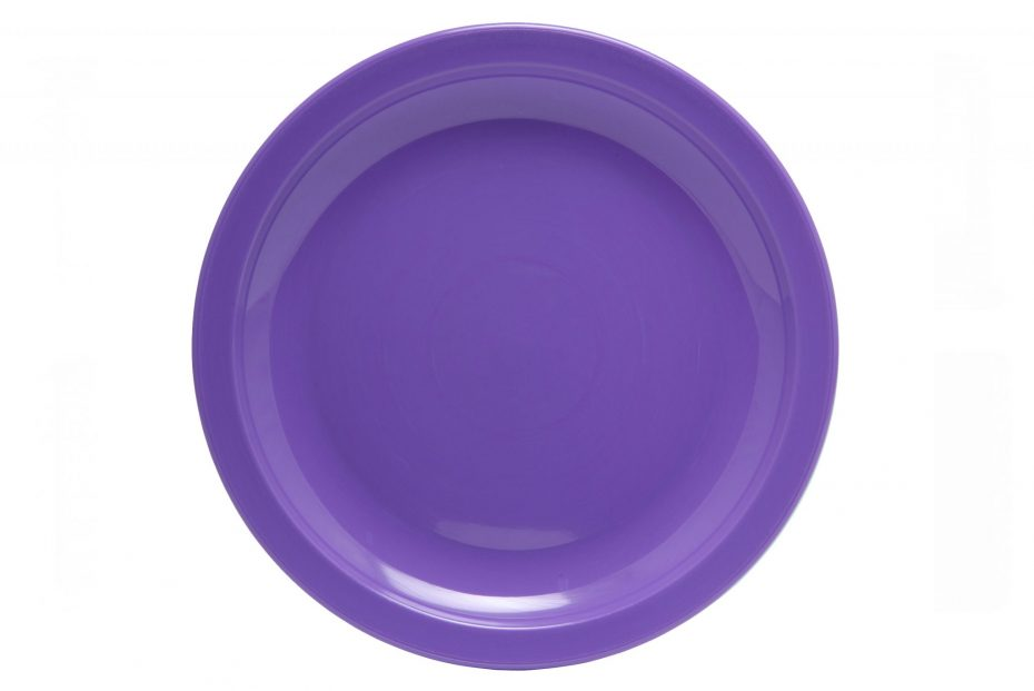 Purple Large Copolyester Plate