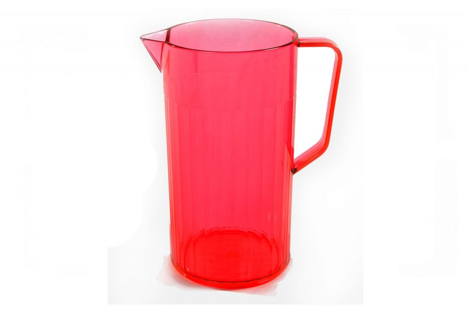 1.1L Red Translucent Jug
