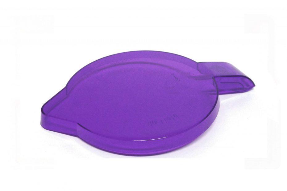 Purple Translucent Jug Lid