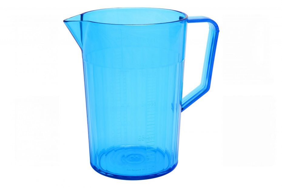 750ml Blue Translucent Graduated Jug