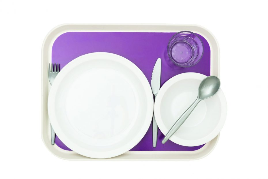 Lux Scandia Tray with Tableware