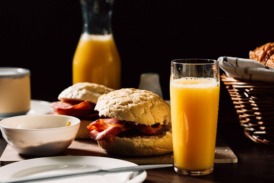 Orange Juice in a Small Hi Ball Tumbler