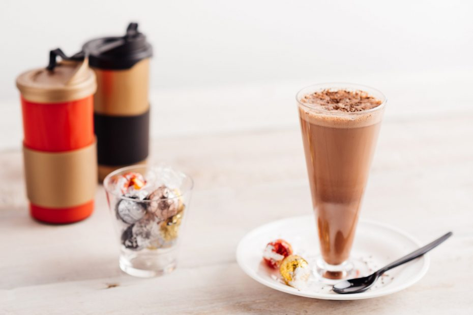 Chocolates in a Small Tumbler