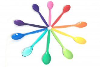 Multicolour Teaspoons