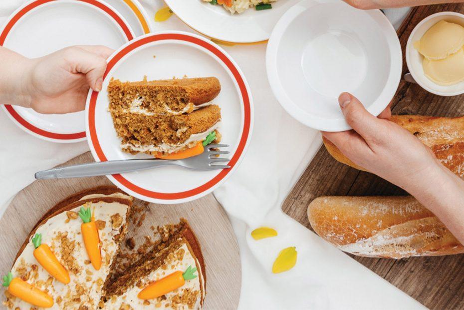 Carrot Cake on an Oak S-Plank