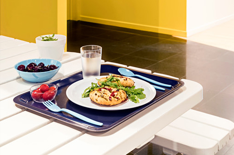Lunch on a Laminate Marine Tray