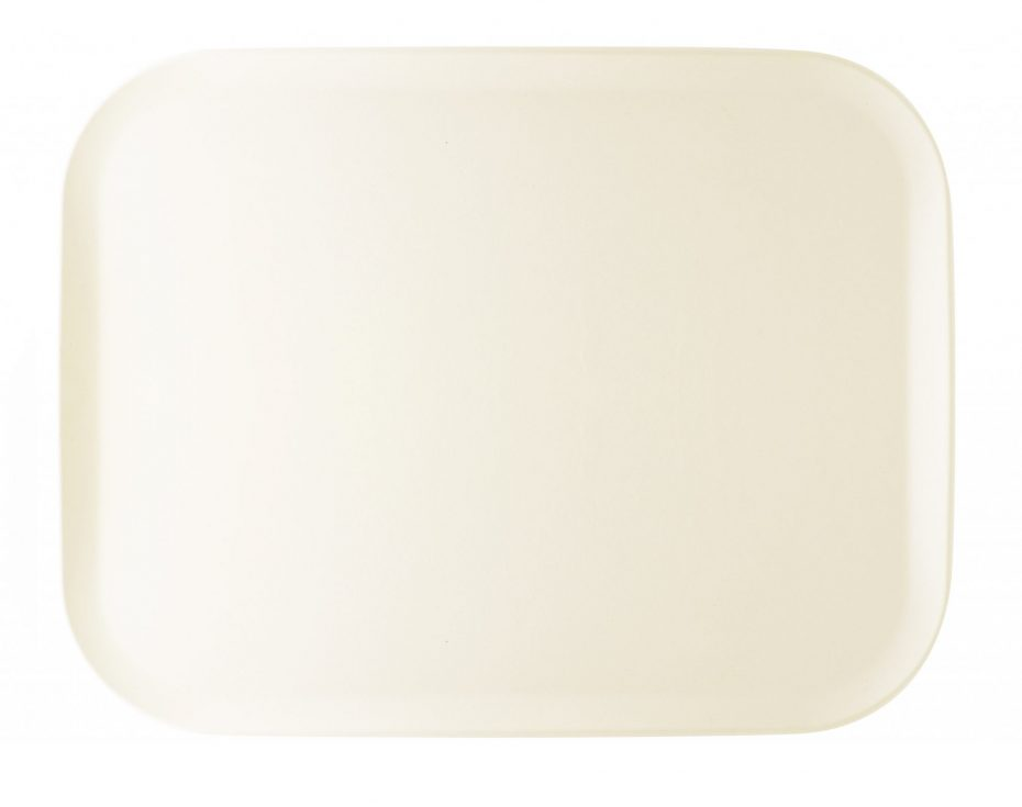 Smart White Rocca Tray