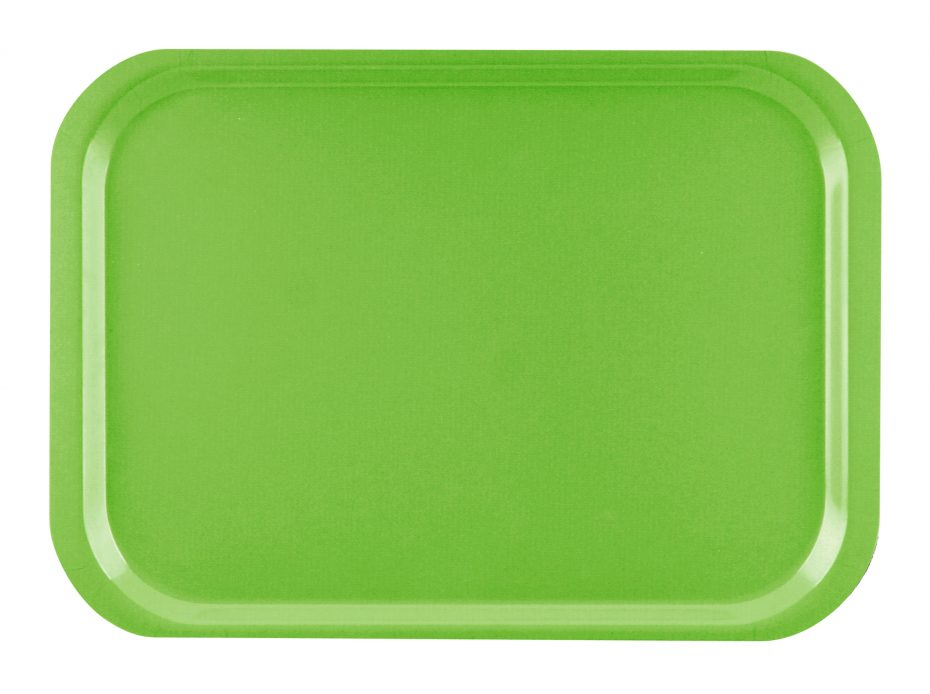Green Standard Laminate Tray
