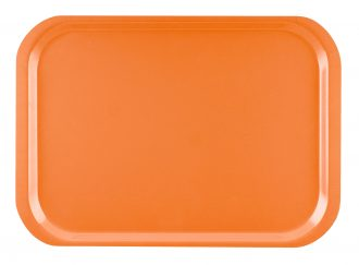Orange Standard Laminate Tray